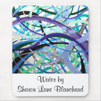 page0001, Water by Sharon Lane Blanchard Mouse Pad