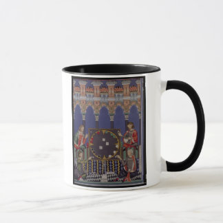 Page 90 from the Book of Games made for Alfonso X Mug