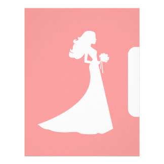 Page Divider for Bride Binder Letterhead Template