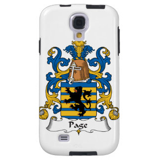 Page Family Crest Galaxy S4 Case