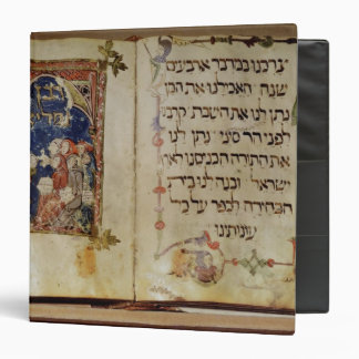 Page from a Haggadah Binder