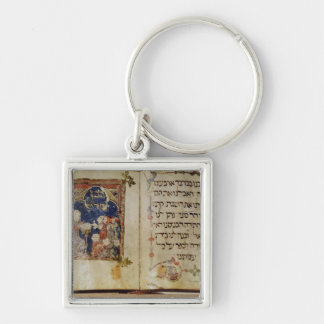 Page from a Haggadah Keychain