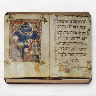 Page from a Haggadah Mouse Pad