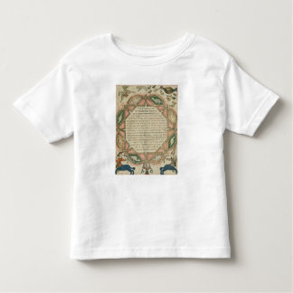Page from a Hebrew Bible depicting Toddler T-shirt
