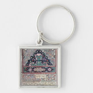 Page from the Canon of Medicine by Avicenna  1632 Keychain