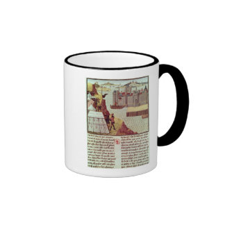 Page from the 'Histoire du Grand Alexandre' Coffee Mugs