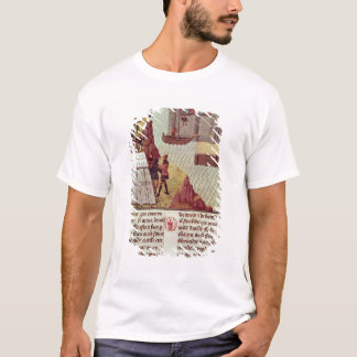 Page from the 'Histoire du Grand Alexandre' T-Shirt