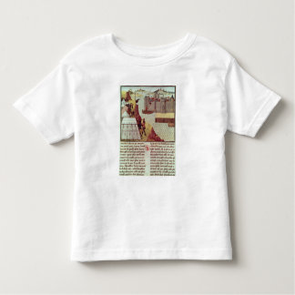 Page from the 'Histoire du Grand Alexandre' Toddler T-shirt