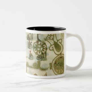 Page from the Koran, from Tunisia Two-Tone Coffee Mug