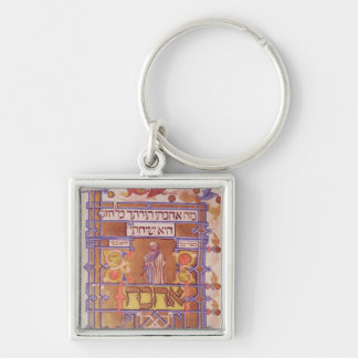 Page from the Mishneh Torah, systematic code Keychain