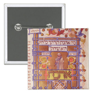 Page from the Mishneh Torah, systematic code Pinback Button