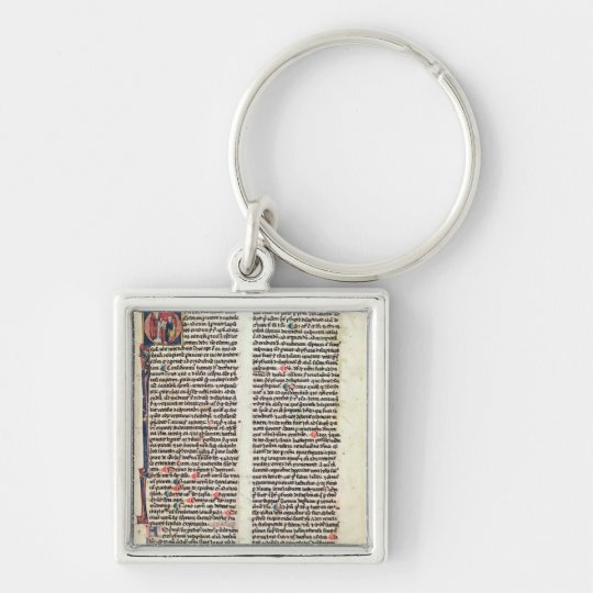 Page from the 'Somme de Theologie' Keychain