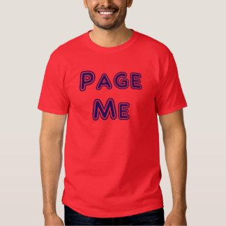 Page Me! Beep Me! Tee Shirt