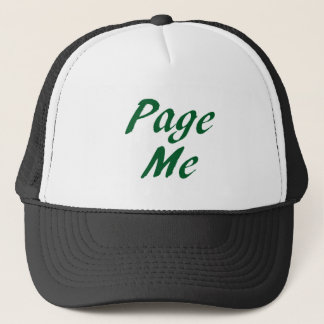 Page me! Beep Me! Trucker Hat