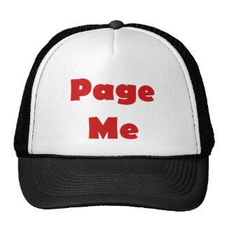 Page Me Mesh Hats
