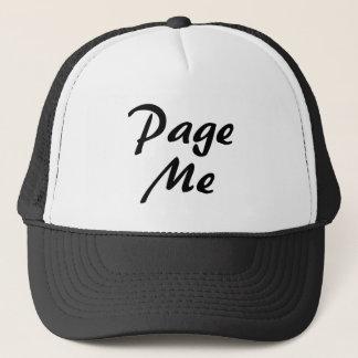 Page Me! Trucker Hat