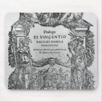 page of 'Della Musica Antica et della Moderna' Mouse Pad