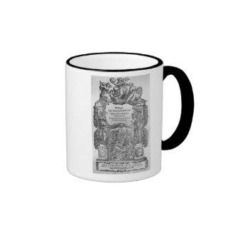 page of 'Della Musica Antica et della Moderna' Coffee Mugs