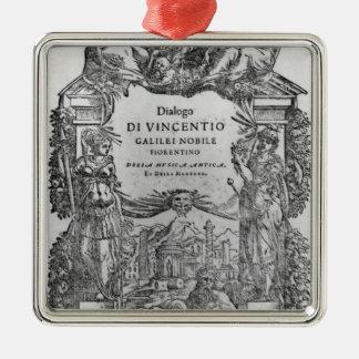 page of 'Della Musica Antica et della Moderna' Ornaments