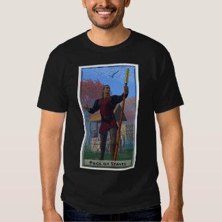 Page of Staves Dark T-Shirt