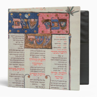Page of text and illustration 3 ring binder