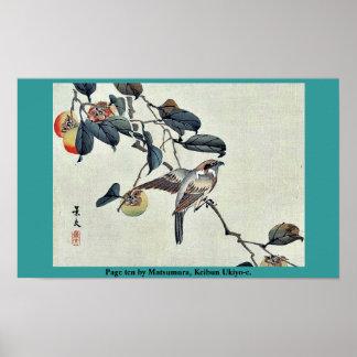 Page ten by Matsumura, Keibun Ukiyo-e. Posters