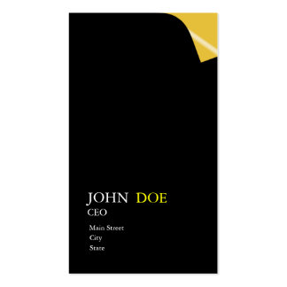 Page Turn Double-Sided Standard Business Cards (Pack Of 100)