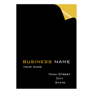 page_turn_business_card large business cards (Pack of 100)