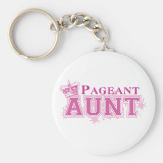 Pageant Aunt Keychain
