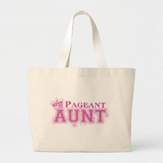 Pageant Aunt Large Tote Bag