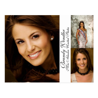 Pageant Autograph/Comp Card
