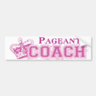 Pageant Coach Bumper Sticker