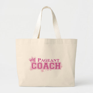 Pageant Coach Large Tote Bag