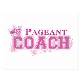 Pageant Coach Postcard