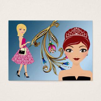 Pageant - Cotillion - Charm - SRF Business Card