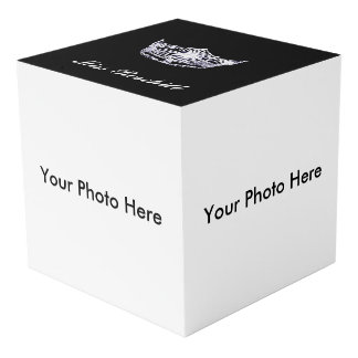 Pageant Crown Custom Photo Cube