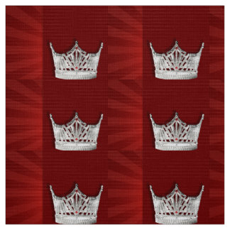 Pageant Crown Fabric