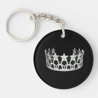 Pageant Crown Keychain