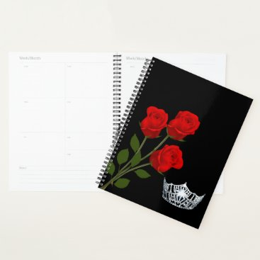 Hawaiian Themed Pageant Crown Planner
