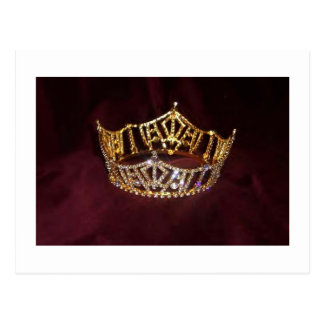 Pageant Crown Postcard