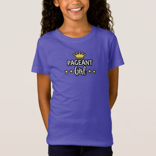 Pageant Girl T_Shirt