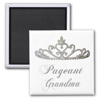 Pageant Grandma 2 Inch Square Magnet