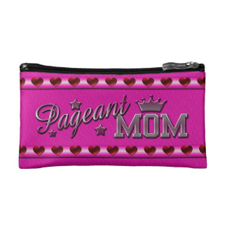 Pageant Mom Cosmetic Bag