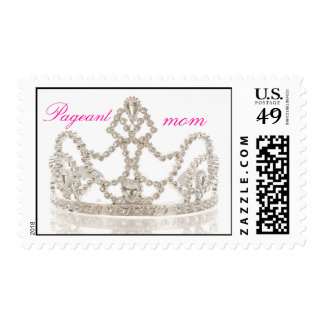 pageant mom crown stamp