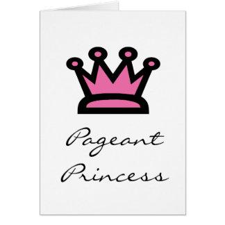 Pageant Princess Card