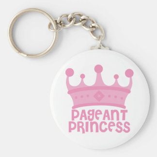 Pageant Princess Keychain