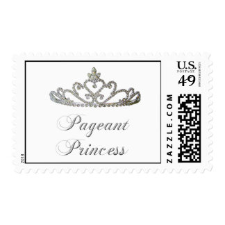 pageant princess postage stamps
