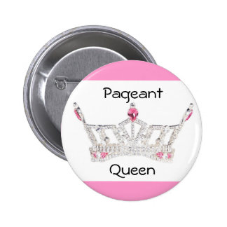 PAGEANT QUEEN Button / Pin