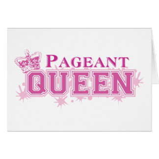 Pageant Queen Card