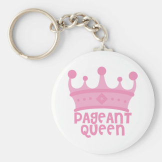 Pageant Queen Keychain